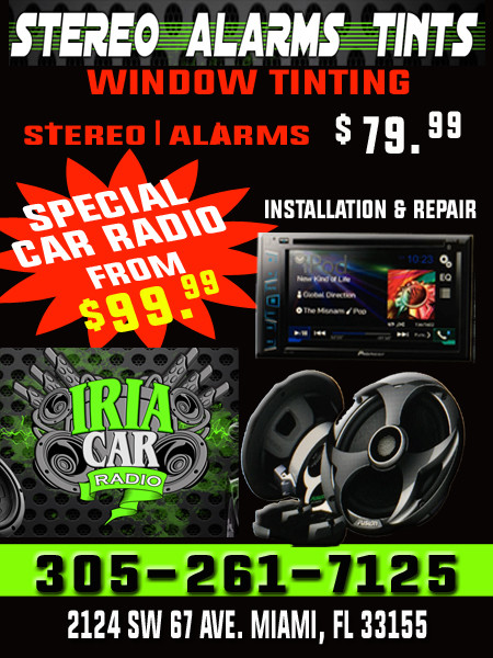 Iria Car Radio