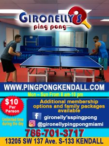 Gironelly's Ping Pong