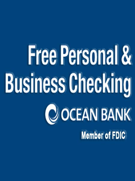 Ocean Bank Free Accounts