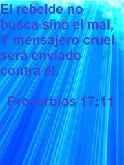 Proverbios 17:11